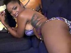 Ebony Goddess Tierra Foot Masturbation