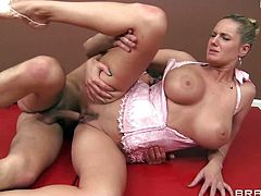 Big booty ballet teacher gets rough doggystyle from her student