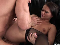Busty beauty Katja Kassin is getting fucked in her hardcore big ass as she really loves!