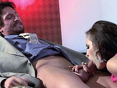 Busty milf likes feeling her wet pussy getting hard pounded in sexy hardcore