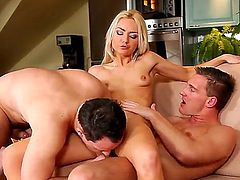 This an brilliant threesome from Andy West, John Parker and Victoria Puppy. Those bisexuals are going to amuse the hell out of you. Their dicks are as insatiable as Victorias cunt.