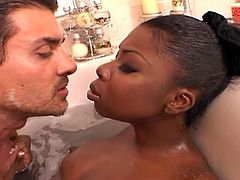 Ebony simone west dp threesome