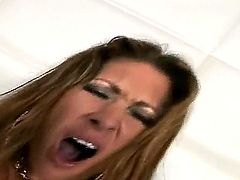 Ramon Nomar is having fun banging Tiffany Mynxs wild pussy and lusty anal tunnel
