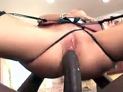 Her first time trying a black cock was a positive one