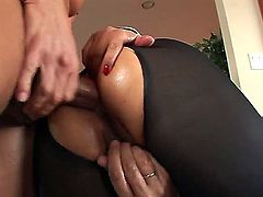 Marco Banderas,Mika Tan and Steve Holmes fucking in awesome threesome sex scene