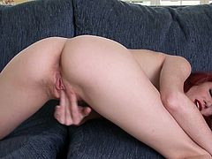 Fiery redhead Elle Alexandra loves tweaking her twat when she's home alone and makes magic with herself in this free tube video.