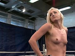 Two sexy, hot and ambitious girls Angel Long and Chaty Heaven can not share one boyfriend so they decided to resolve this problem on the fighting ring being completely naked.