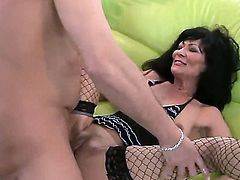Mature amateur horny couple Regina fucking each other using sex toys in the pussy till cumming