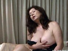 Asian granny Nanoko Kimura knows what she needs