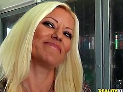 This is the time for her to show her cock sucking skills and make him super horny. His hard dick is penetrating down her throat like there is no tomorrow.