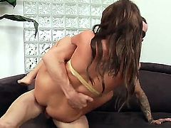 Cassandra Nix like riding and undusexy her wet vag over a huge and hard dick
