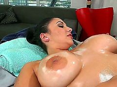 Busty hottie Missy Martinez likes feeling hunk drilling her in nasty hardcore