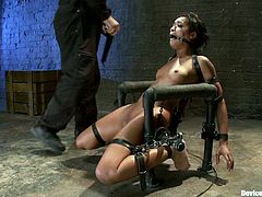 Skin Diamond is the sexy and foxy girl who is getting fucked hard in a bondage BDSM video where she's banged deep without being able to resist.
