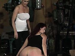Mandy Bright and Pop Anca are crazy girls. So today they decided to show you something really hot! Of course I am about a hardcore BDSM scene! Watch and enjoy!