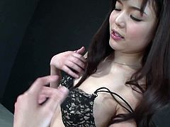She looks sweet and a lot of guys around her are eager for her juice. So they dive in her slit one after another. Enjoy hot Jav Hd porn tube video.