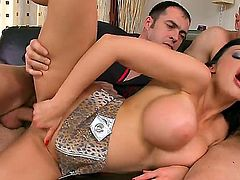 Aletta Ocean loves giving deep blowjob