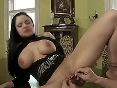 Christoph Clark gets pleasure from fucking Anastasia Brill in her hot mouth
