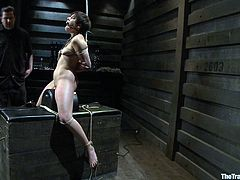 It is finally her turn to get trained for BDSM. Will she be able to withstand the pain, suffering and especially the humiliation? There is only one way to find out...