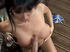 Keiran Lee shows nice anal tricks to Eva Karera with firm booty with the help of his rock hard worm