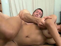 Chica Yurizan Beltran with round butt and hairless twat is the one hot dude Jordan Ash loves to fuck
