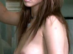 Sabrina Maree gives a closeup view of her muff as she masturbates with sex toy