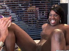 Be ready for extremely hot ebony sex tube video featuring two hussy lesbians in sexy waitress uniform. They are so insatiable and hot tempered. Enjoy them for free.