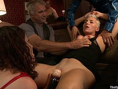 When it comes to bondage games, these hotties love to please themselves and their master. Watch them being humiliated before blowing their master.