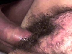 Hardcore and shabby granny bitch, named Kata, gets a neighbourhood dick today. She takes it in her experienced mouth and ugly hairy pussy. Enjoy hardcore fucking scene.