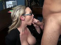 Abbey Brooks with juicy knockers and her hot bang buddy Danny Mountain are in the mood for fucking
