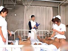 Arousing japanese hotties are eager to fuck in their naughty hardcore action scene