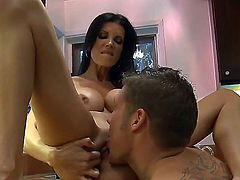 Shay Sights with massive jugs and clean pussy knows no limits when it comes to fucking with horny bang buddy Chris Johnson