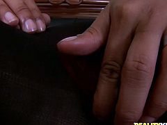 Flamboyant Indian milf gets to a strain dick to oral fuck it zealously before she exposes her juicy cunt for a hard fuck in steamy sex video by Reality Kings.