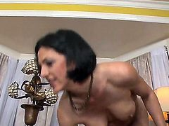 Sonya Sage taking oral sex to the whole new level as she does it with hot dude Sonny Hicks