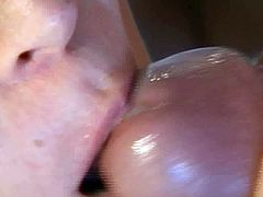 After a good session of fitness, a hot threesome fucking is extremely welcomed. This is what the two horny young blondes believe. Swallowing the last drop of his hot juice is what they like the most