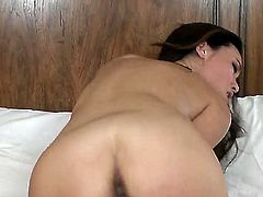 Miko Sinz gets naked and masturbates with toy