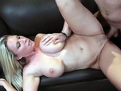 Xander Corvus makes Devon Lee scream and shout with his rock solid worm in her fuck hole