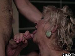 Busty mature blonde tamara gets pounded hard