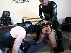 Master doing a black slave girl