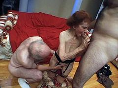 Mature lady and big hard dick
