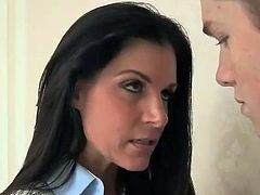 Smut stepmom India porn around son inside law