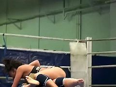 Nude female wrestling scene with Honey Demon and Melanie Memphis would make you feel so hot and so horny! Cute girls are wrestling in sportswear and totally naked.