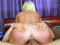 Alexis Ford is enjoying Erik Everhard sucking her clit and fingering her twat and then pleasing him with blowjob.