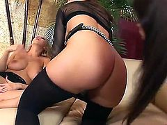 Antonya, Mandy Dee and Nicole Sweet are horny lesbians who love to eat each others pussies so bad