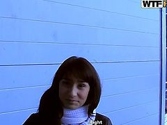 Brunette Genesis is good on her way to satisfy her fuck buddy with her sweet mouth
