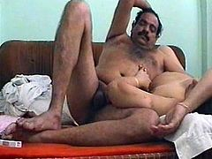 This hot Indian whore knows how to make sex more fun and pleasurable for her lover. She lies on her back and parts her legs so he can fuck in her missionary position.