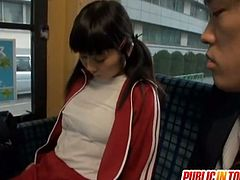 Hinata Komine is a teen asian babe that will keep you glued to the screen, as she's seduced and lured into hardcore sex in public, don't miss it!