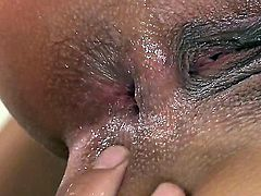 Busty and slutty brunette honey Angel Rivas enjoys in giving her handyman a great blowjob session after he fixes her sync in the bathroom and enjoys in hardcore anal sex