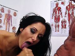Peter North is one hard-dicked guy who loves oral sex with