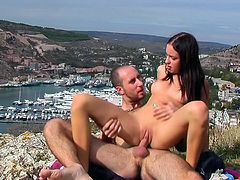 Nothing makes her more horny than fucking her adorable cunt in outdoor hardcore scenes