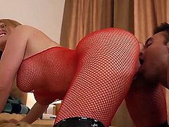 Krissy Lynn makes a dream of never-ending fucking with hard dicked dude Rocco Reed a reality